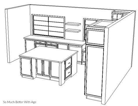 kitchen layout idea gardenweb kitchen drawing program