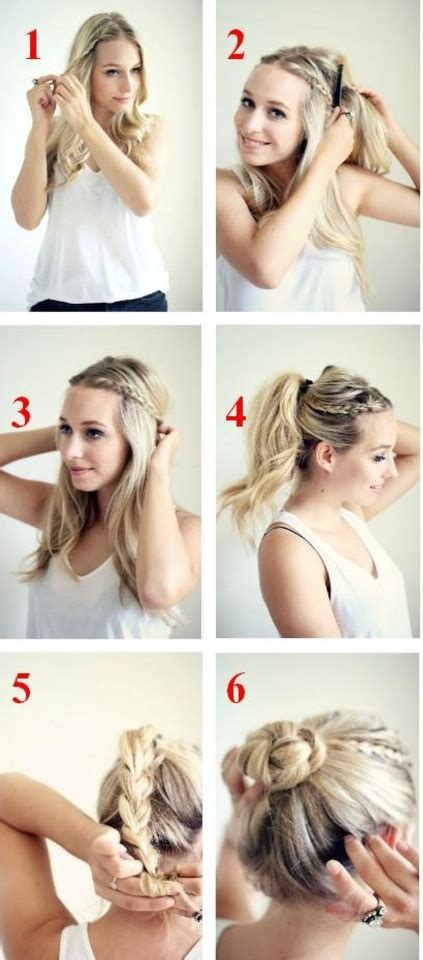 easy hairstyles for waitress s easy updo trusper