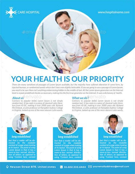 33 health flyer designs design trends premium psd