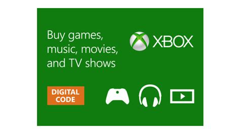 Xbox Gift Card Digital - buy xbox digital gift card microsoft store