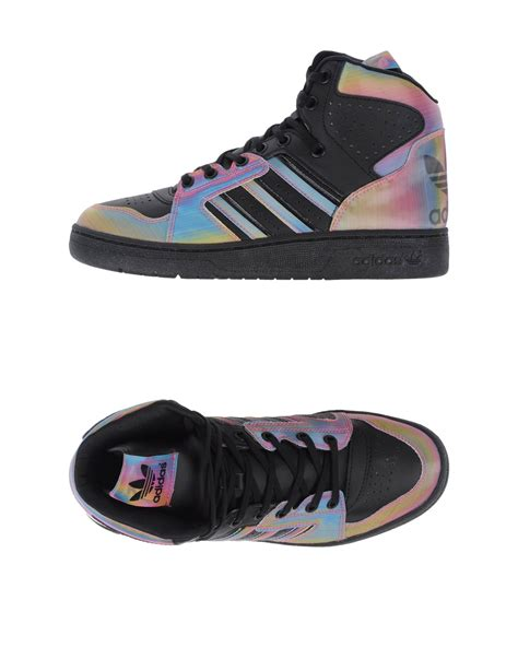 Adidas Sneaker Sole Iphone All Hp adidas originals high tops trainers in black lyst