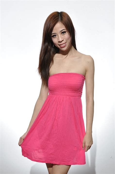 Dress Lyka 01 Pink pink supre dress 35 runway by aircrew