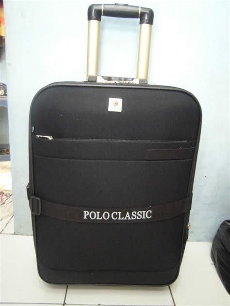 Koper Pakaian Polo Classic 4 distributor tas rangsel tas koper trolley polo classic 5335