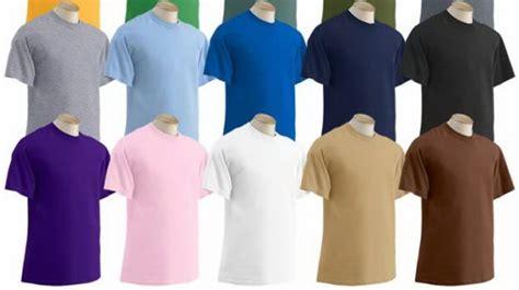 Kaos 02 Warna Putih pemilihan warna kaos polos untuk kaos sablon kaosyes