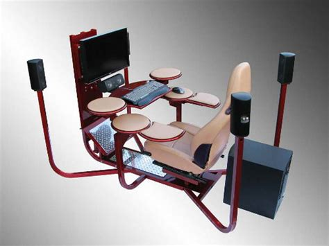 ergonomic gaming computer desk office home accessories ergonomic workstation gaming desk