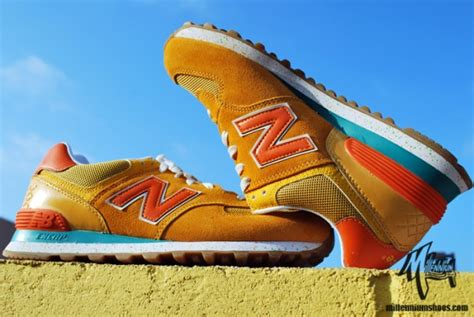 New Balance 574 Milenium Kuning new balance m574 quot fruit pack quot another look sneakerfiles