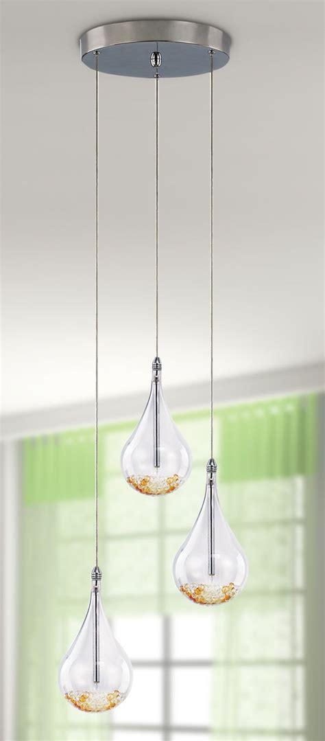 Unique Indoor Lighting Fixtures Adjustable And Unique 3 Light Teardrop Pendants Http