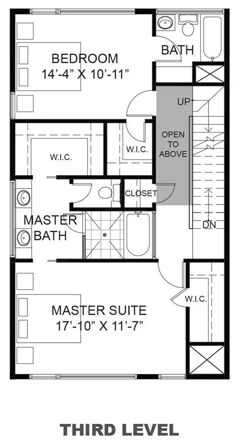 urban loft floor plan 2366 commerce street urban lofts townhomes