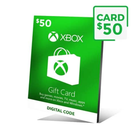 Xbox 50 Gift Card - xbox gift card 50 cart 227 o xbox live 50 dol 225 res