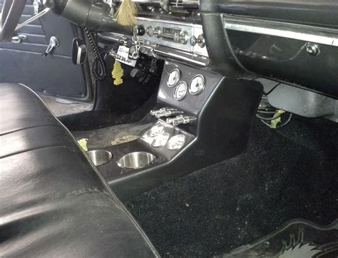 center console for trucks with bench seat 57 72 interior chevy impala console floor shift cup