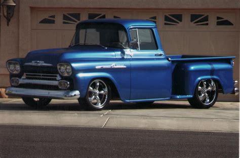 chevrolet apache 1958 1958 chevrolet apache step side custom 70914