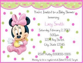 baby minnie mouse birthday invitations drevio