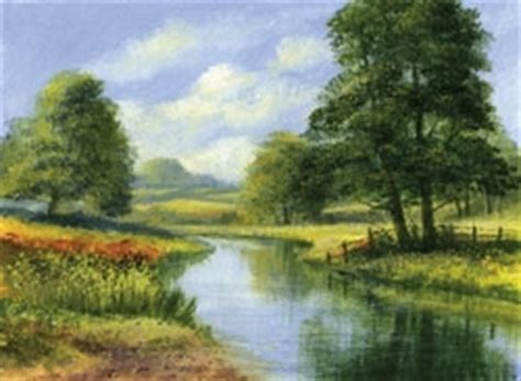 Landscape Pictures To Paint In Acrylic Learn To Paint Acrylic Landscapes With Terry Harrison