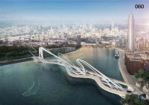 design contest launched for another thames bridge unusual designs for new thames bridge in london earthly