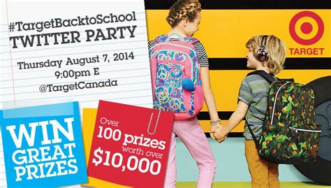 Back To School Supplies Giveaway Near Me - join us for the targetbacktoschool twitter party aug 7 outside the box