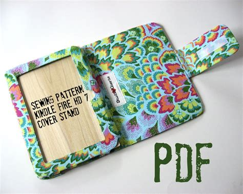 sewing pattern kindle cover how to make cover stand for kindle fire hd 7 pdf sewing