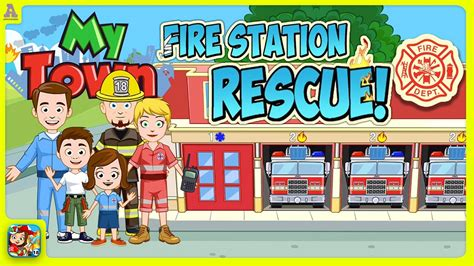 Playtown Emergency my town station rescue awesome playtown app for