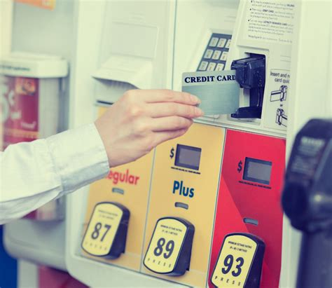 gas credit card six credit cards for gasoline purchases