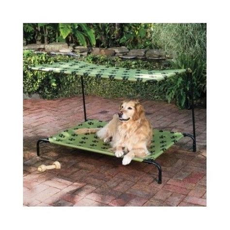 dog bed with canopy pet sun shade dog bed canopy portable elevated cot indoor