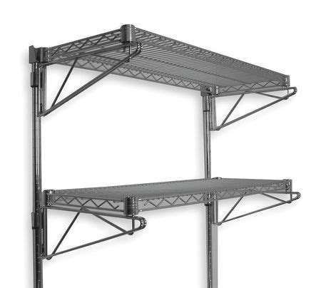 Wall Mount Wire Shelf by Wall Mount Wire Shelving Kits By Value Brand Wire