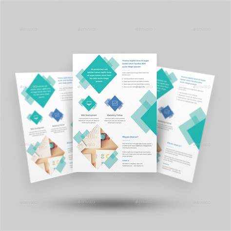 digital agency flyer templates by rtralrayhan graphicriver