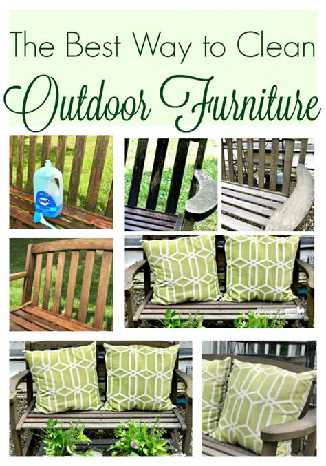 Best Way To Clean Upholstery by The Best Way To Clean Outdoor Furniture Farmhouse 1820