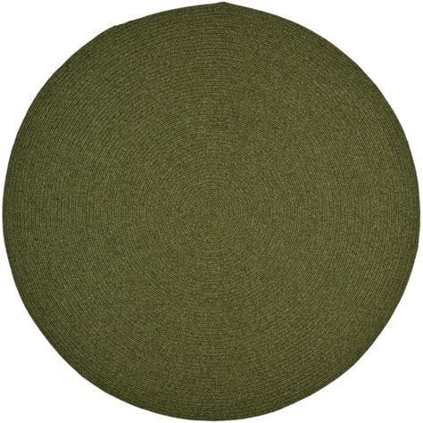 Safavieh Braided Green 6 Ft X 6 Ft Round Area Rug 6 Foot Rug