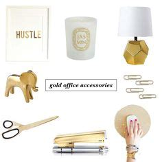 Office Supplies Gold Gold Office Accessories On Gold Office Office