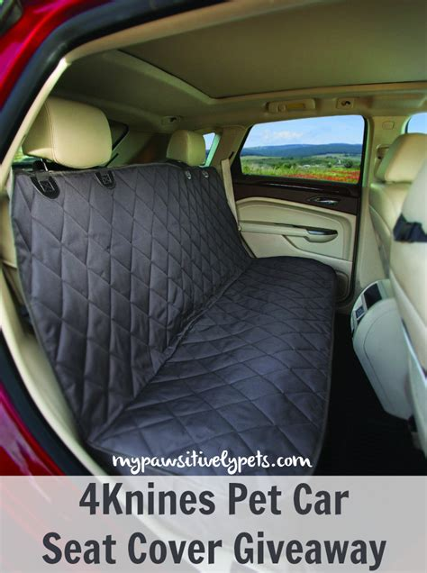 Car Seat Giveaway - going on a doggy adventure with 4knines pawsitively pets