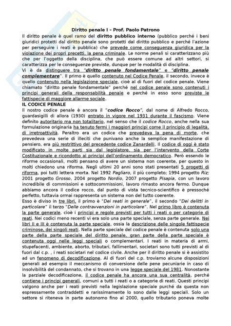 diritto penale mantovani riassunto esame diritto penale i prof patrono libro