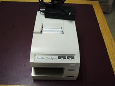 Printer Validasi epson tmu375 validation printer tec