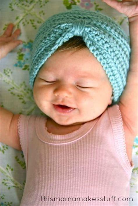 tutorial turban baby crochet baby turban pattern tutorial by this mama makes