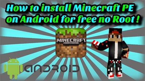 how to minecraft for free on android how to install minecraft pocket edition version on android for free no root