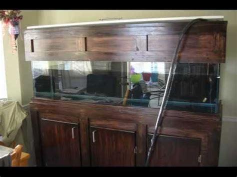 aquarium hood design diy build your own custom 125 gallon fish tank stand and hood