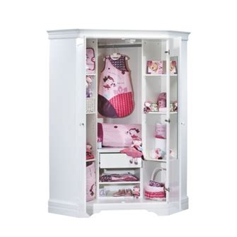 armoire d angle bebe baby dressing angle elodie sauthon meubles et rangements