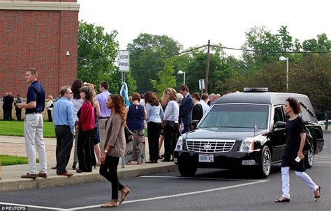 No Funeral Before Tuesday For thousands gather for the funeral of otto warmbier daily
