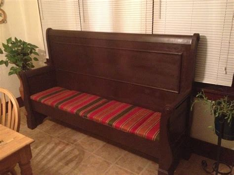 footboard bench sleigh bed headboard and footboard bench home decor and crafts i lo