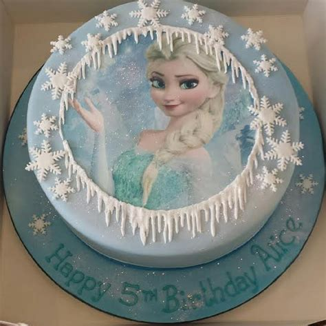 Frozen Themed  Ee  Birthday Ee   Cakes Cakes By Robin