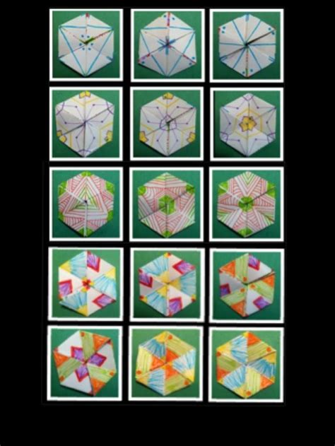 How To Make A Hexaflexagon Out Of Paper - 17 best images about flexagon on artist s book