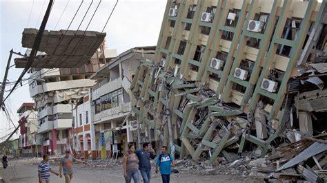 imagenes impactantes terremoto ecuador a 525 asciende la cifra de muertos por sismo en ecuador