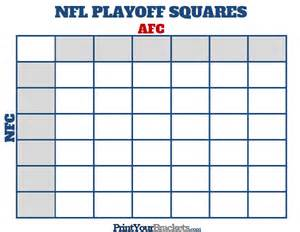 Free Printable Football Office Pool Printable Nfl Playoff Squares Football Office Pool