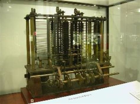 by charles babbage first computer the history of ict and computing timeline timetoast