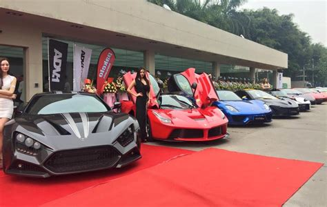 hp hypercar lineup gather  impressive wrap launch performancedrive