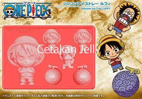 Cetakan Puding Coklat Kue One Luffy cetakan silikon coklat puding one luffy cetakan jelly cetakan jelly