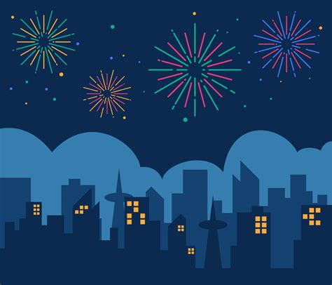 awesome fireworks vectors   vectors clipart