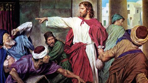 jesus cleanses the temple why did jesus say that some well intentioned people will