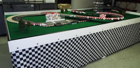 nascar theme parties indy  themed parties mobile slot car track mobile racing track