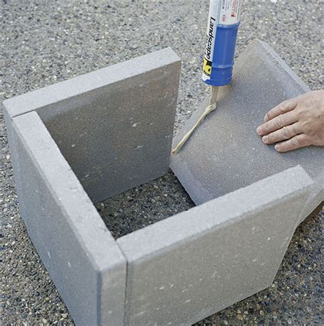 Make Planters by Diy Modern Concrete Planter 187 Curbly Diy Design Community