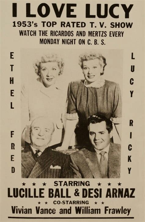 1953 decorating guide for your i love lucy home desi ad poster for the i love lucy show vita meata vega