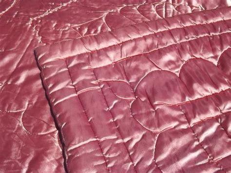 Cottage Home Decor Regency Vintage Quilted Satin Comforter Warm